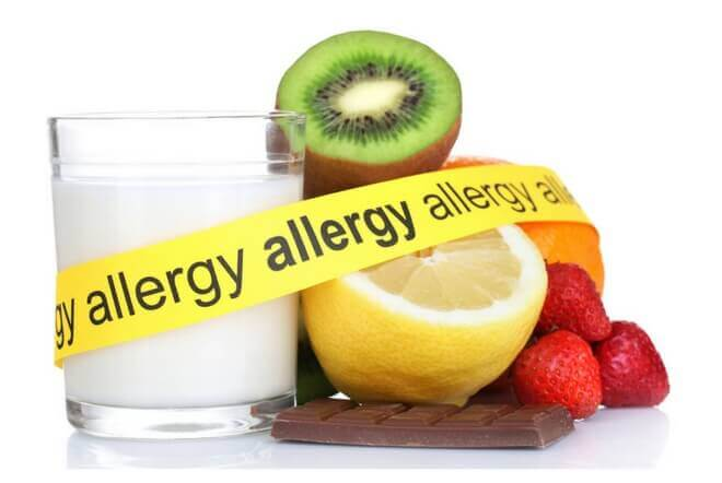 Food allergies and intolerances can happen at any age