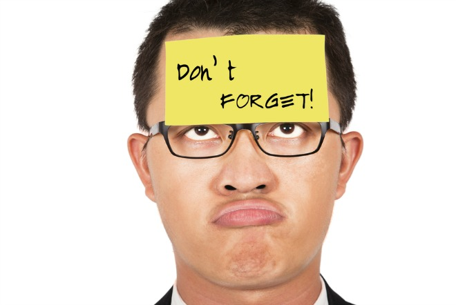 FORGETFULNESS MEN MAY ACTUALLY HAVE AN EXCUSE TO FORGET