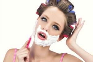 Womens Facial Hair How To Shave Face and Not Fall For A Fad