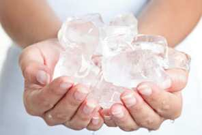 Nice ice baby How to beat inflammation and puffiness with an ice pack